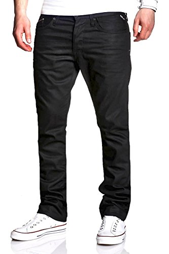 Replay Jeans WAITOM M983.333.610 Coated Schwarz