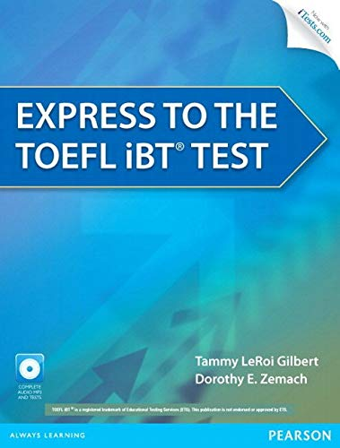 - Express to the TOEFL iBT® Test with CD-ROM