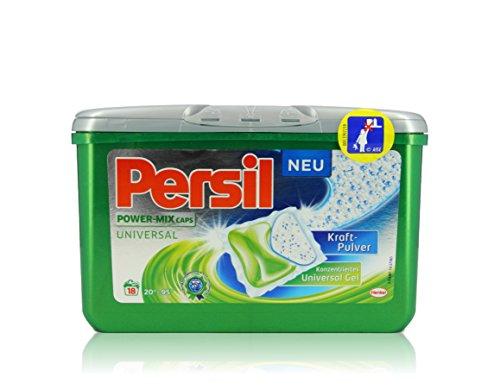 Persil Power-Mix Caps Universal Waschmittel, 4er Pack mit je 18 Waschladungen  (4 x 423 g)