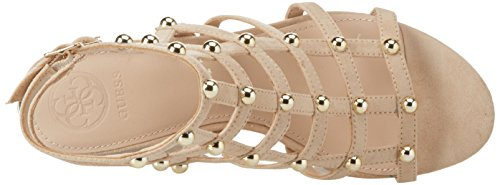 Natural Guess Light Sandal Footwear Caviglia Avorio con Scarpe Dress Donna alla Cinturino PqPxHrw