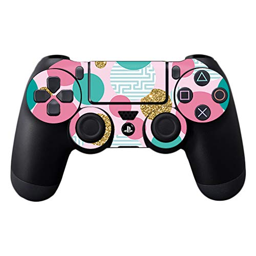MightySkins Skin Compatible with Sony PS4 Controller - Golden Bubbles | Protective, Durable, and Unique Vinyl Decal wrap Cover | Easy to Apply, Remove, and Change Styles | Made in ()
