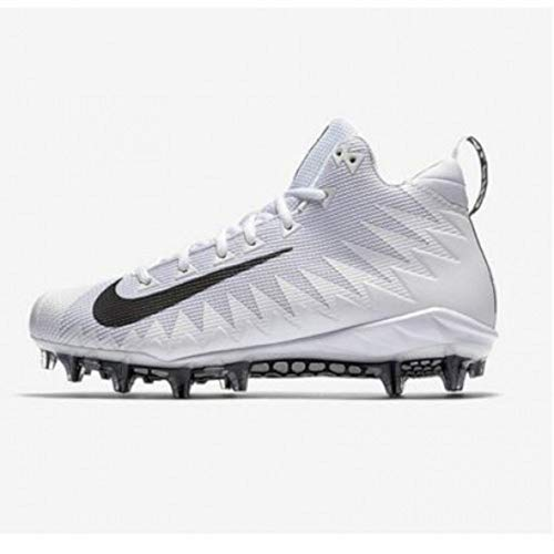 fb39240a4 Nike Mens Football Cleat Alpha Menace Pro Mid Size 14 Black