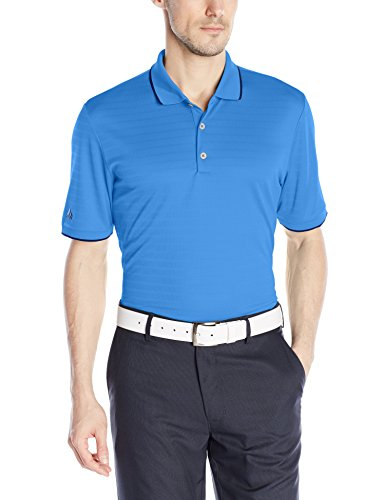 adidas Golf Mens Golf Climacool Tipped Club Polo Shirt