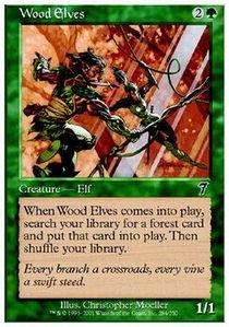Magic: the Gathering - Wood Elves - Seventh -