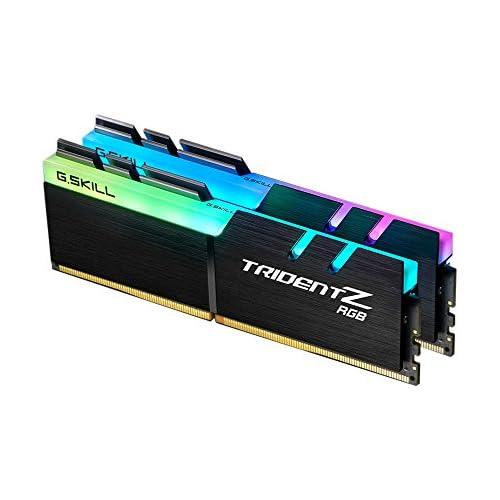 chollos oferta descuentos barato G Skill Trident Z RGB 16GB DDR4 16GB DDR4 3466MHz módulo de Memoria 16 GB 2 x 8 GB DDR4 3466 MHz 288 pin DIMM Negro