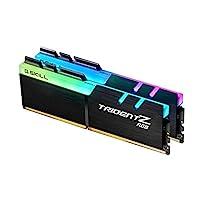 G.Skill TridentZ RGB Series 16GB (2 x 8GB) 288-Pin DDR4 3466MHz (PC4 27700) Desktop Memory Model F4-3466C16D-16GTZR