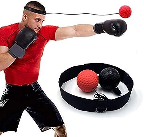 JOJYO Reflejo de Boxeo Ball, Boxeo Reflejo de la Bola para el ...