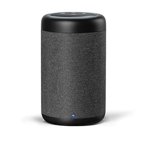 GGMM D7 Portable Speaker Dedicated for Dot 3rd Gen, Rechargeable Battery Power Supply 7 Hours Playtime, Increasing The Original Volume by 3 Times, Premium Dynamic 360° Sound, Black (Dot Not Included) (Best Echo Dot Speaker)