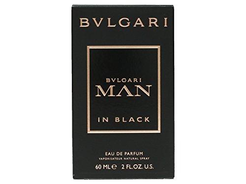 Bvlgari Man in Black Eau De Parfum Spray, 2 Ounce