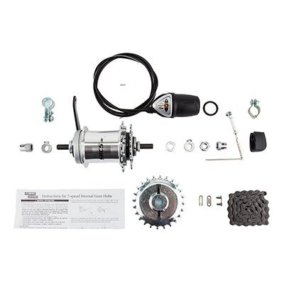 Sun 5-Speed Coaster Brake Hub Conversion Kit for Adult 3-Wheeler