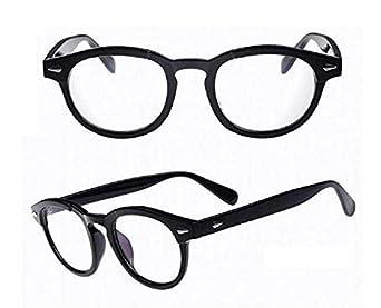 Lenti Trasparenti Inception Pro Infinite Occhiali fashion Non Graduati Retro Stile Moscot Modello Johnny Depp