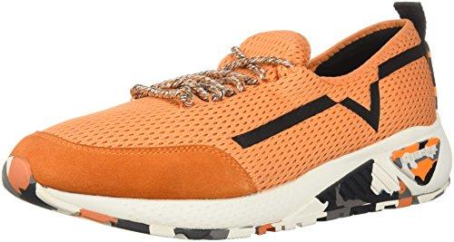 Diesel Mens Skb S-kby Ii Sneaker Oranje Peper