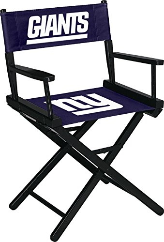 Imperial Officially Licensed NFL Merchandise: Directors Chair (Short, Table Height), New York Giants by Imperial