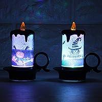 12 Velas LED Sin Fuego,Dotbuy Luz De La Vela Del LED Luces ...