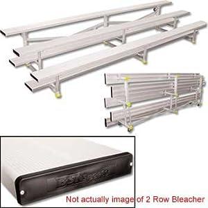 2 Row 8' Tip n' Roll Bleachers (colored) (EA) by SSG / BSN