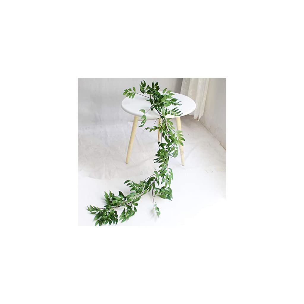 Wedding Decorations | Fake Plants | Bridal Shower Decorations | Fake Plants for Decoration | Garland Greenery | Flores artificiales para decoracion | Rustic Wedding Decorations for Reception