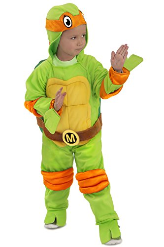 Princess Paradise Baby's Teenage Mutant Ninja Turtles Costume Jumpsuit, Michelangelo, 12-18 Months -