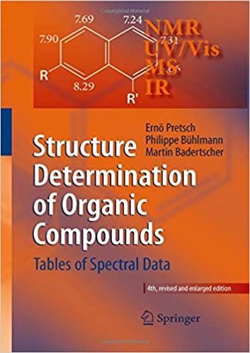 Structure Determination Of Organic Compounds: Tables Of Spectral Data por &                   0                  Más epub