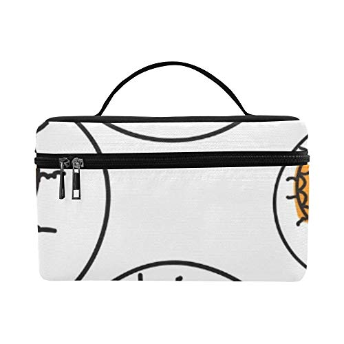 Halloween Allseeing Eyeball Beautiful Lunch Box Tote Bag Lunch Holder Insulated Lunch Cooler Bag For Women/men/picnic/boating/beach/fishing/school/work ()