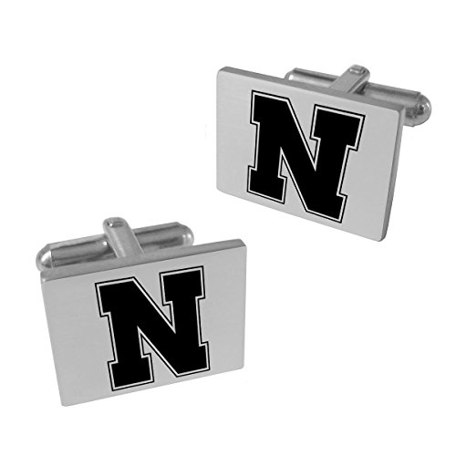 Nebraska Huskers Stainless Steel Original Style Cufflinks Nebraska Huskers Stainless Steel