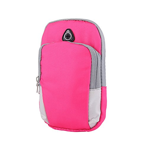 Damero Sport Running Arm Band Tasche Blue + Pink NbHucn4