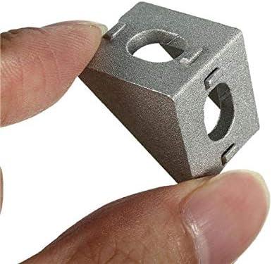 Suleve AJ20 Aluminium Angle Corner Joint 20x20mm Right Angle Bracket Furniture F
