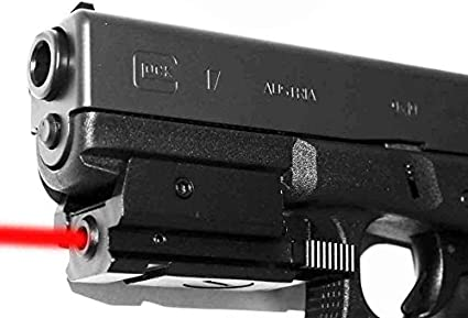 Tactical Red Laser sight with picatinny Weaver rail Mount For Gun Pistol//Glock
