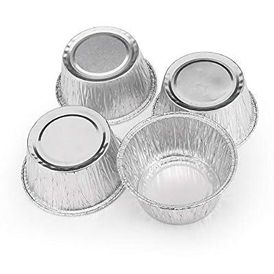 """Ben Paul Disposable 5"""" Aluminum Foil Tart/Pie Pans (50 Pack)"""
