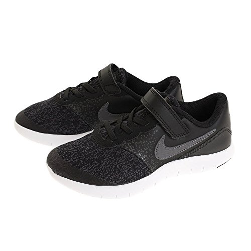 NIKE Anthracite Dark Black White Shoes Contact PSV Flex 3 Kids Grey Size r8AqTr