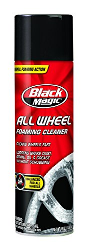 Black Magic 120009 Foaming All Wheel Cleaner, 16 oz. (Best Cleaner For Black Rims)