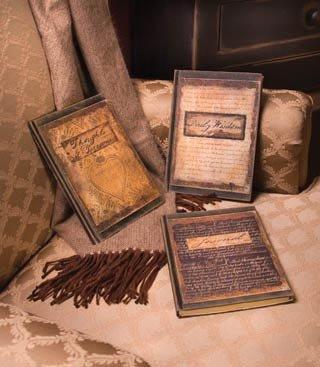 Antique Journals - Set of 3