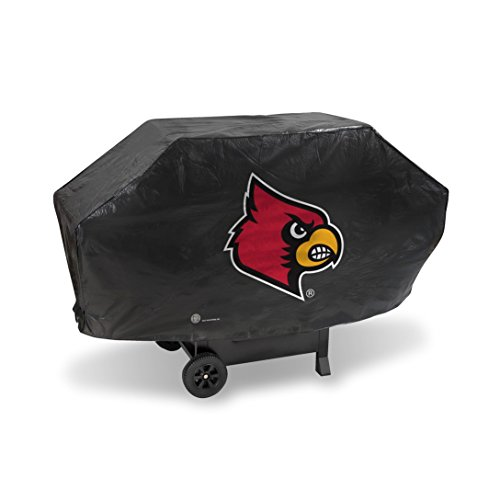 NCAA Deluxe Grill Cover NCAA Team: Louisville ()