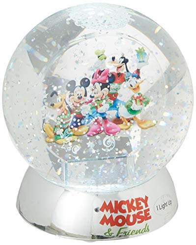 Department 56 Disney Mickey and Friends Waterdazzler Waterball, 4.5 Inch, Multicolor
