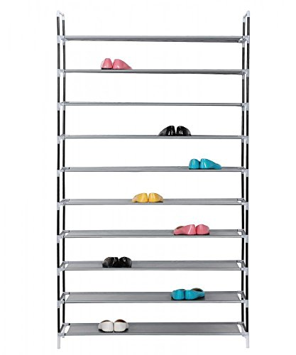 BestMassage Shoe Rack Wall Bench Shelf Closet Organizer Storage Stand (Convertible Unit Bench)