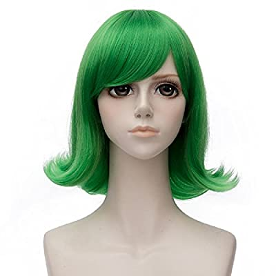 Probeauty Wig Movie Blue /Royal Blue/Green Straight Party Cosplay Wigs for Inside Out