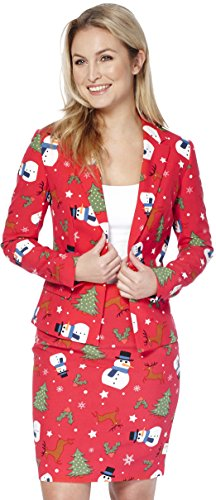 Womens 'Christmiss' Party Suit by OppoSuits, (Ugly Suits For Sale)