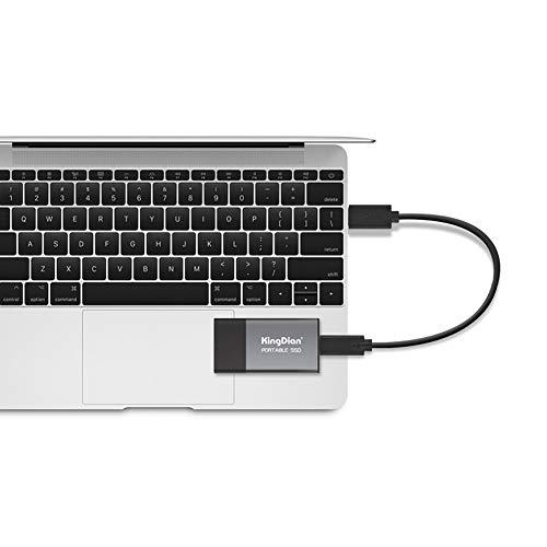 KingDian 120gb 240gb External SSD USB 3.0 Portable Solid State Drive (P10 240GB) by KingDian (Image #2)