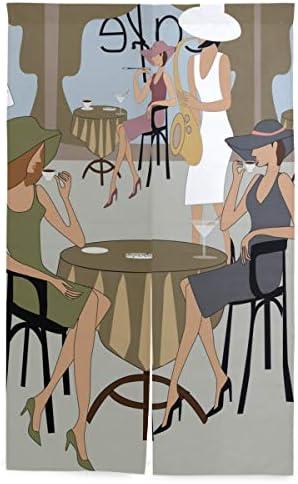 NIKIVIVI 間仕切りカーテン,ガールカフェ,パーソナライズされたカスタマイズ パーティションキッチンレストランホール出口部屋装飾 洗練されたシンプルなスタイル