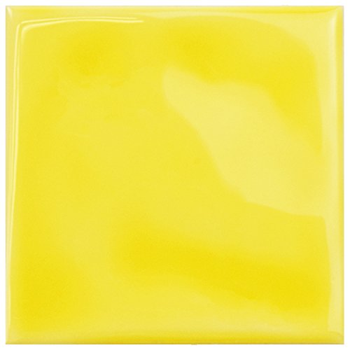 SomerTile WRC4TWYL Torsio Square Ceramic Wall Tile, 3.75