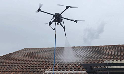 Professional Aerial Spraying Drone Soft Wash Roof Cleaning, Lavado Scorpion Drones Dealer (We Offer Training)