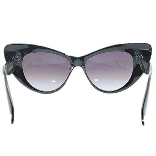 de Playa Mano Novedad de Frutas Decoración Sol UV Perlas Tonos Ojos diseñador Protección de de y KOMEISHO Hechas Gato de Vacaciones Gafas de Gafas de señora la Flores Verano Brillantes de a de Sol wZdqzxA