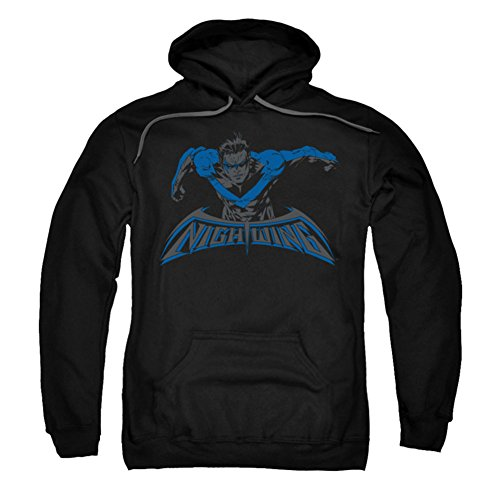 UPC 887806880544, Trevco Batman-Wing Of The Night - Adult Pull-Over Hoodie - Black, Large