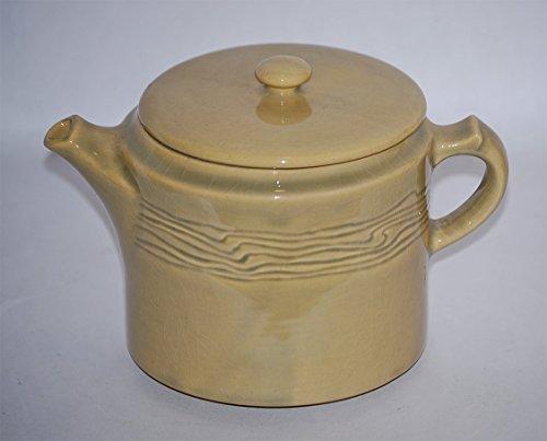Roseville Pottery Mayfair Tan Tea Pot 1121