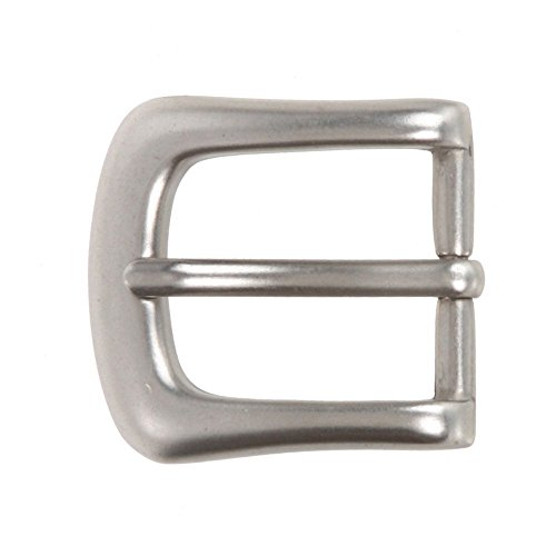 "1"" (25 mm) Nickel Free Single Prong Horseshoe Belt Buckle Color: Antique Silver from beltiscool"