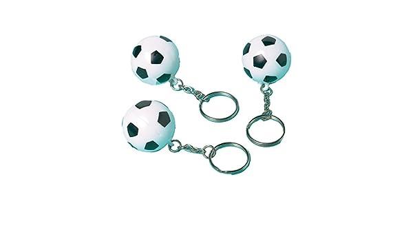 Generique - Llaveros en Forma de balón de fútbol: Amazon.es ...