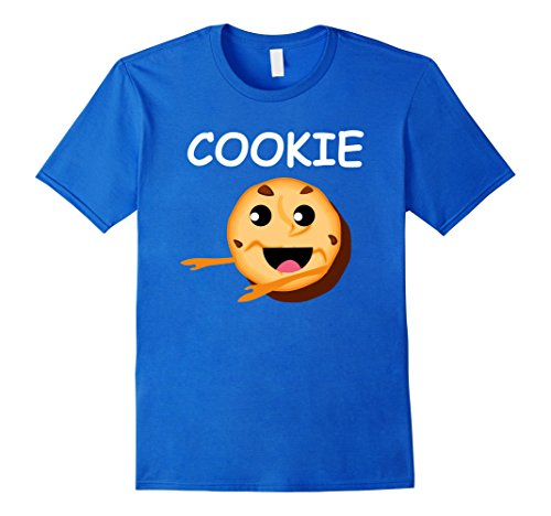 Mens Matching Couple Friends Costume Milk and COOKIES T Shirt XL Royal Blue