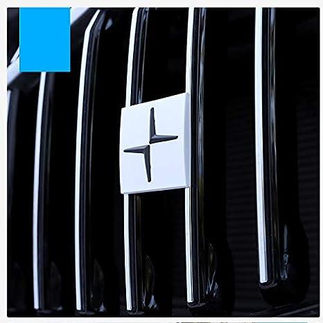 D28JD Logo-Emblem f/ür K/ühlergrill Metallbuchstaben Aufkleber f/ür V-olvo XC60 xc40 XC90 S90 v90 s60 v40,Crown,Ordinary