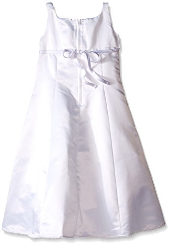 Lavender Girls' 2 Piece Sleeveless Empire with Shirred Bodice Dress with Sweater