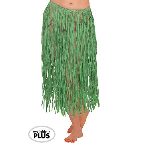 (Amscan Adult Grass Party Hula Skirt, 28