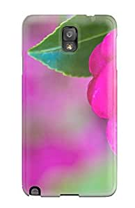 New Arrival Case Cover With FkyJpiN4789NrBgo Design For Galaxy Note 3- Pretty Pink Rose In Bloom